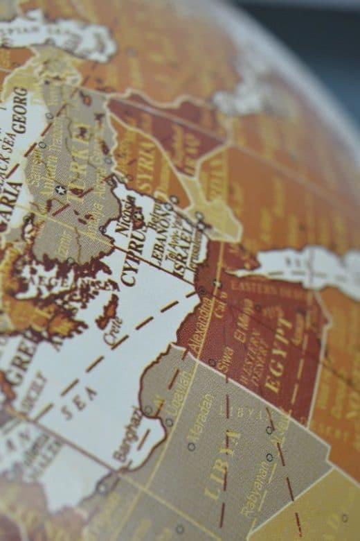 houten wereldkaart kopen